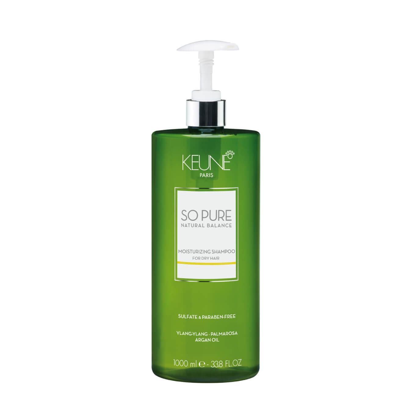 keune so pure moisturizing shampoo 1000ml 8718375521779